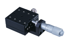 Single-Axis Manual Linear Stage, Crossed Roller Precision Bearings